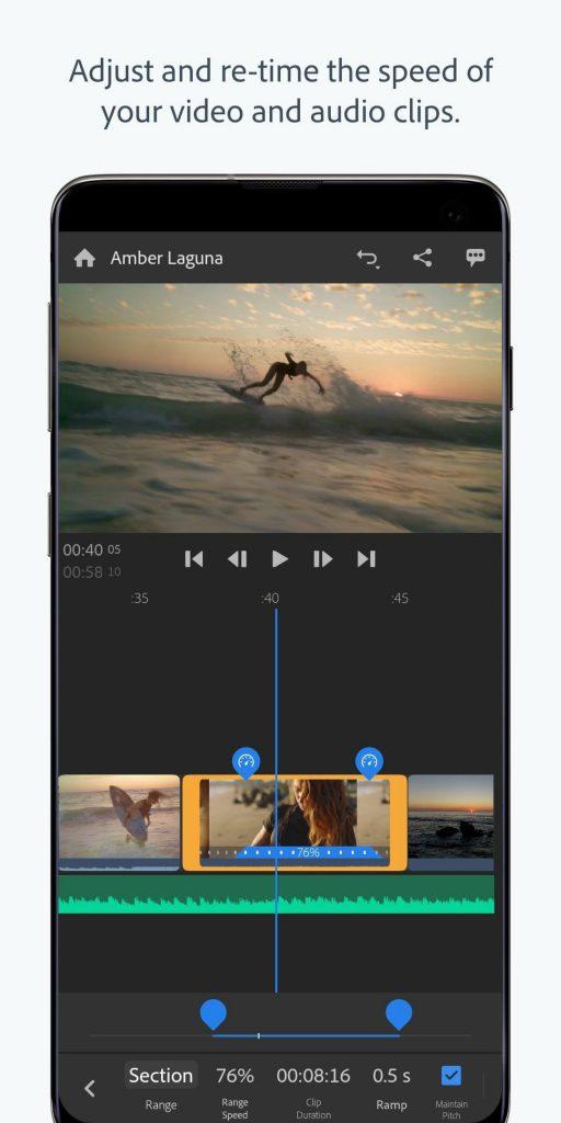 Adobe Premiere Rush free pro apk