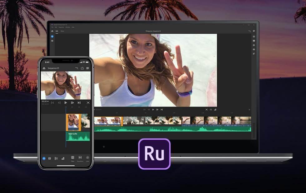 Adobe Premiere Rush pro version
