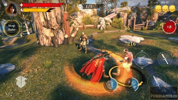 iron blade mod apk screenshot