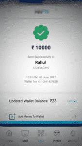 fake paytm app