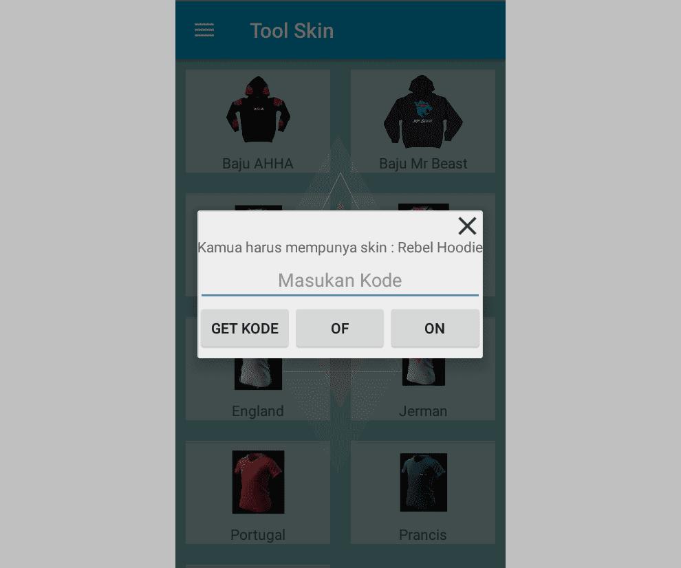 Free Skin