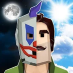 Scary Clown Man Neighbor. Seek & Escape Español v1.12 Apk (MOD MENU)