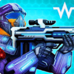 Warfield: Tactical Arena Shooter v1.9.3 Apk Mod (Free Shopping)