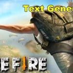 Text Generator FF, How to Make Cool Free fire Nicknames