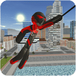Stickman Rope Hero v3.8.1 Apk Mod (Infinite Money)