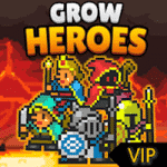Creating a VIP party - Grow Heroes v5.8.4 Apk Mod (Infinite Money)